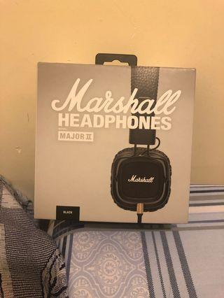 Marshall Headphones Major 2 (Wired)