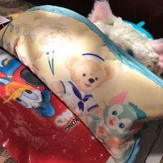 香港迪士尼 達菲畫家貓傘 傘袋