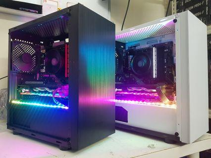 Custom Gaming PC (R5 2600, 450 chipset, RX580 8GB)
