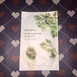 Innisfree Sheet Mask mugwort