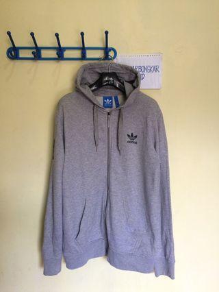 Ziphoodie Adidas Basketball - Grey