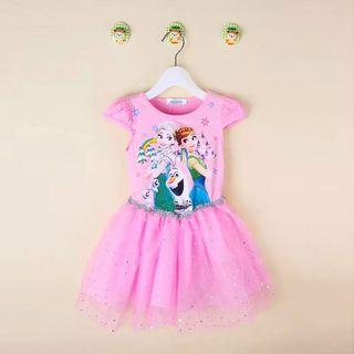🚚 Last one !! Frozen Dress for age 5-6 yrs old