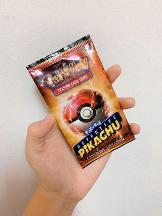 Detective Pikachu Pokemon Trading Card Game Booster Pack 🌟