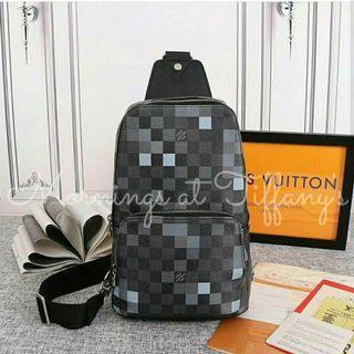 Louis Vuitton Avenue Sling Messenger Bag