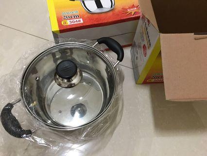 不鏽鋼鍋 玻璃鍋蓋