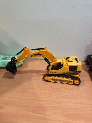 Toy Excavator - very nice for display