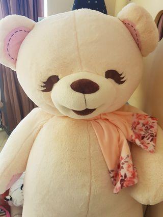 Cream Pink-ish Teddy bear | Boneka Beruang