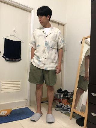 🚚 夏威夷花襯衫 古著店購入