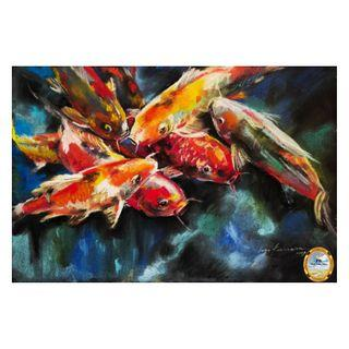 Painting - Koi Fish