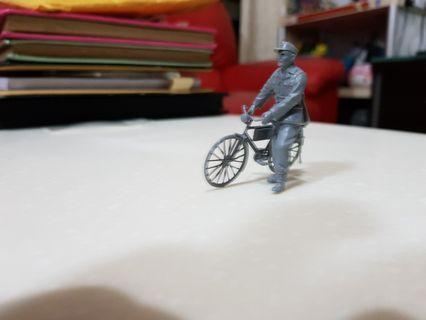 1/35 WW2 Heer Enlisted with a Bicycle
