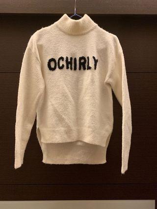 Ochirly 立領毛衣 #二手衣服拍賣會