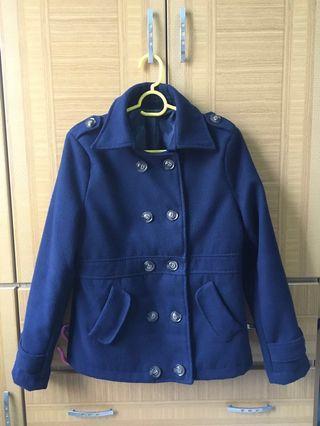 二手深藍外套