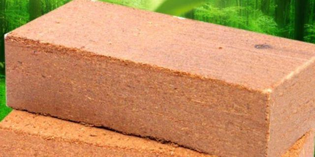Coco peat for gardening base