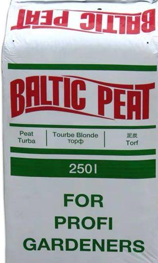Baltic peat - soil