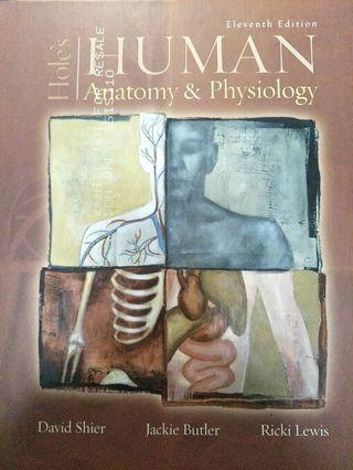 Hole's Human Anatomy and Physiology 11th edition