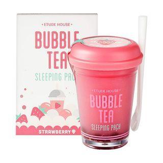 Etude House Bubble Tea Sleeping Pack [Strlawberry]