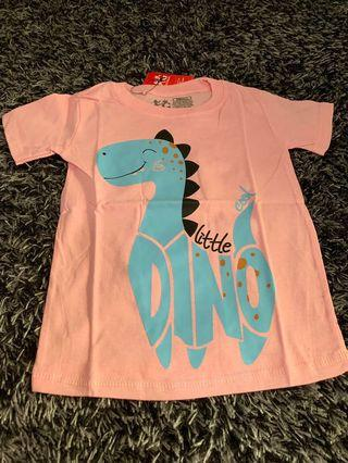 Kaos anak little dino