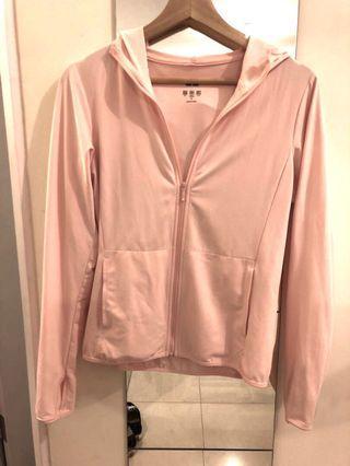 Pink uv cut jacket
