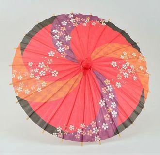 日式 mini紙傘 30 cm. 裝飾用