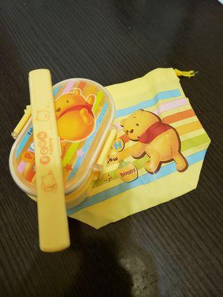 Winnie the pooh小朋友食物盒