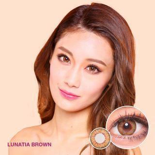Softlens Ageha Lunatia Brown
