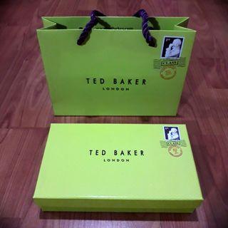 Ted Baker Box & Paper Bag #gayaraya