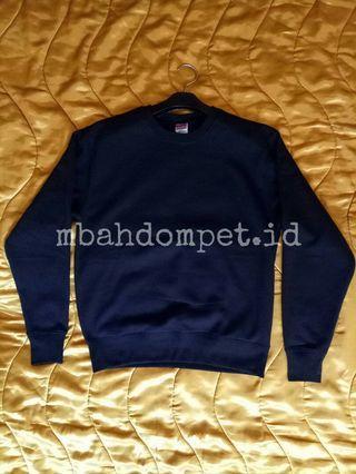Prinstar Black Basic Sweater Sweatshirt Crewneck size M