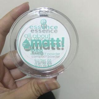 🚚 Essence 超霧光定妝粉餅防水型