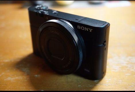 Sony RX100 連原裝皮套