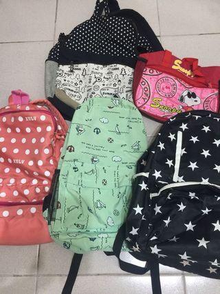 🚚 後背包 學生包 餐袋