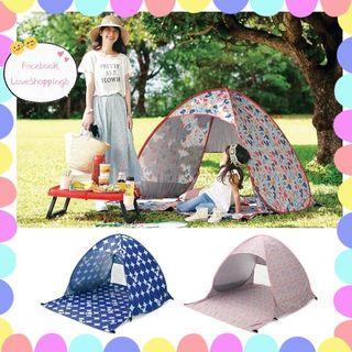 米奇花野餐沙灘帳篷🎪 買個靚靚帳篷,遮遮太陽🌞擋擋風沙🌬️⛱️