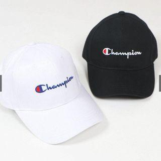 【HYPED.】Champion Classic Twill Logo Baseball Hat Cap