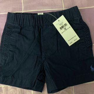 Ralph Lauren Baby chino shorts 12M new with tag