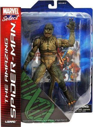 The Amazing Spider-man Lizard Marvel Select Figure