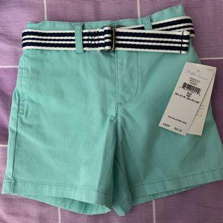 Ralph Lauren Baby belted chino shorts (new with tag)