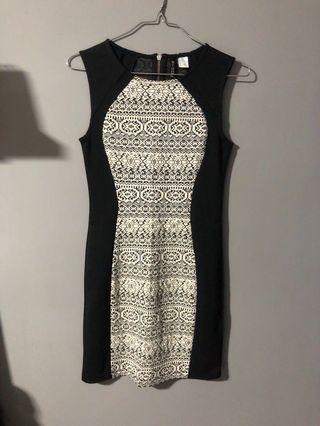 H & M Aztec Print Dress