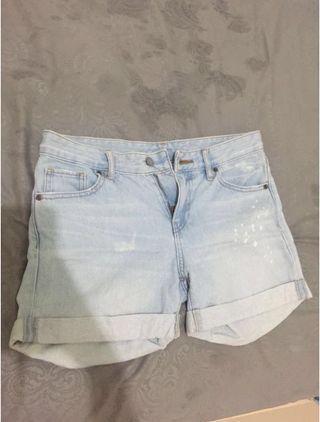 #BAPAU Hotpants uniqlo