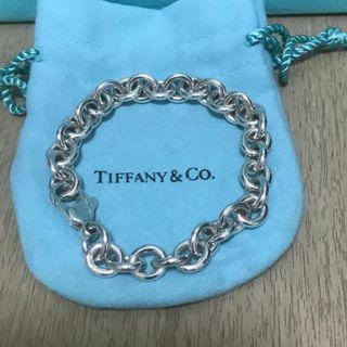 原價$1900 Tiffany & Co Round Link Bracelet 手鍊