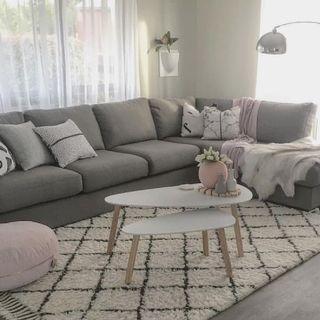 sofa L santai AF19663