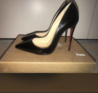 Authentic SO KATE 120mm Christian Louboutin 37