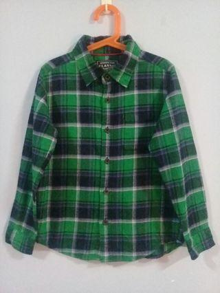 #OYOHOTEL Boy Flannel Shirt