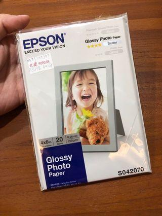 🚚 Epson Glossy photo paper S042070