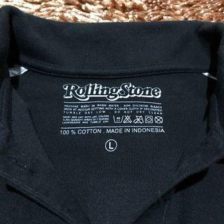 Polo shirt rolling stone