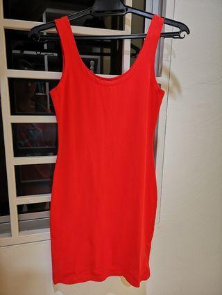 Lovely orange dress