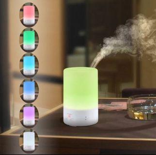 Led light Usb Aroma Essential Oil Diffuser Ultrasonic Air Humidifier
