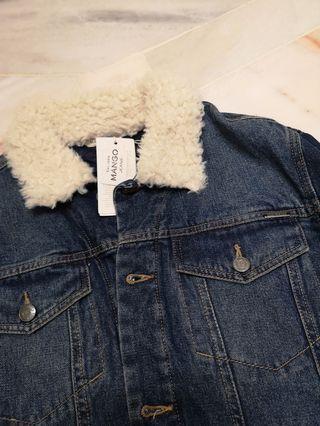 MNG Denim Winter Jacket