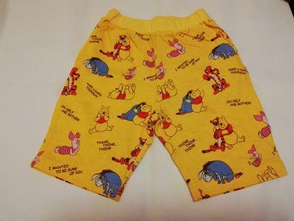 (現貨包郵)Winnie the pooh 純棉短褲