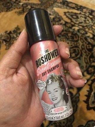 Dry shampoo the rushower