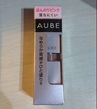 (包郵)2019年升級版!Sofina AUBE 修護精華護唇液 Essence Lip Color 透明淺粉色