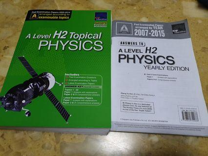 🚚 A Level H2 Physics TYS Questions and Solutions
